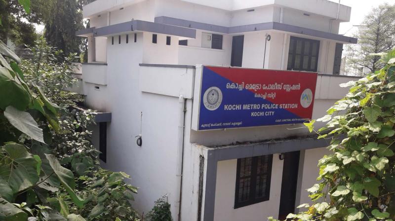Metro police station at Kalamassery
