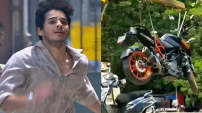 'Dhadak' actor Ishaan Khatter has recently gotten into trouble for breaking major traffic rule in Bandra, Mumbai. (Photo: Instagram)
