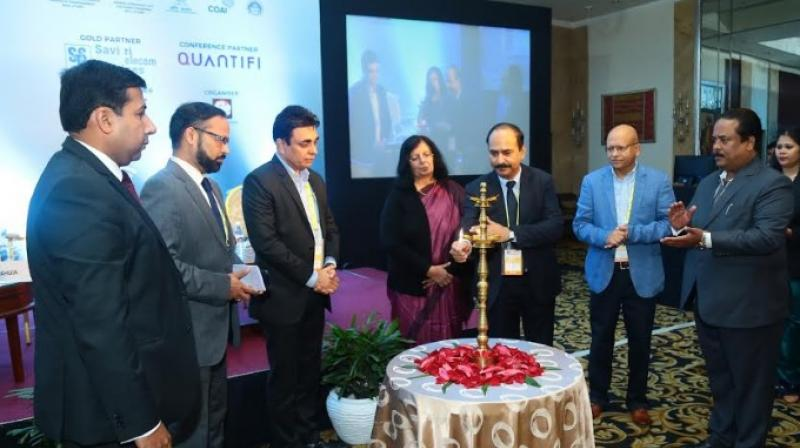 Left to Right •         Mr. Amitoj Arya, Executive Director (TMT Advisory), Ernst and Young•         Mr. Vikram Deshpande, VP and Head, WiFi Business and Alliances, Bharti Airtel•         Mr. Purushottam Kaushik, Head - Strategy and Special Init