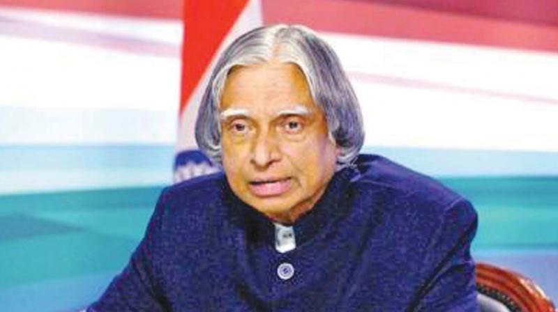 "In 2002, Dr Kalam became the 11th President of India and famously became the ""People's President"" for his friendly nature to one and all. (Photo: File)"