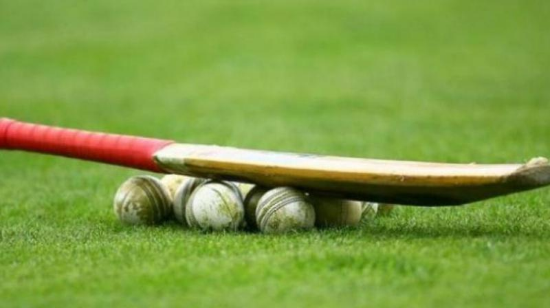 A near-century from opener P. Akshath Reddy and a crafty half-ton by captain A. T. Rayudu powered Hyderabad to a four-wicket win over Saurashtra in their Vijay Hazare Group 'D' one-day cricket match here on Friday.
