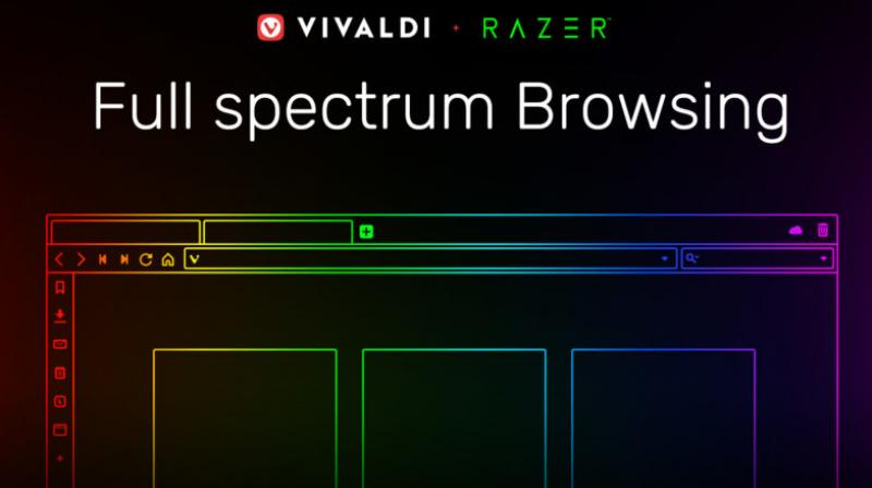Chroma-enabled devices can now dynamically sync colors from websites being visited in Vivaldi.