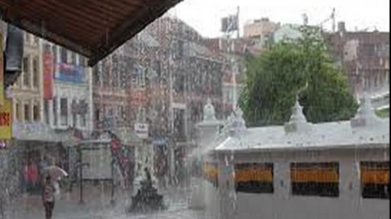 Torrential downpour since Thursday has affected 28 districts across the Himalayan nation. (Photo: ANI)