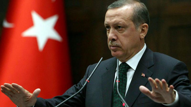 Erdogan also commissioned a new naval warship into the Turkish Navy on the occasion and hailed the warship building capabilities of the Turkish defence industry. (Photo: File)
