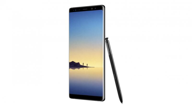 Samsugn Galaxy Note 8 smarthone (Photo: File)