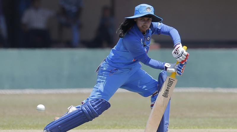 India had already sealed the series by winning the first two ODIs but in the 3rd match they could not defend the total of 253 for five, built around Raj's unbeaten 125 and opener Smriti Mandhana's 51.(Photo: AP)