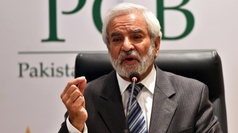 """""""Their (Indian) policy has been overall contradicting, because they are always ready to play in multinational tournaments like Asia Cup and World Cup but pulls out on bilateral arrangements,"""" Pakistan Cricket Board (PCB) chairman Ehsan Mani said. (Photo: AFP)"""