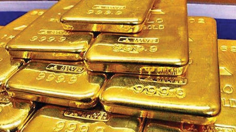 Traders said gold prices fell slightly by Rs 20 on weak demand from local jewellers. (Representional Image)