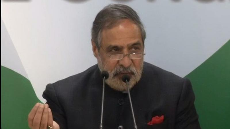 Congress spokesperson Anand Sharma asked the prime minister to come clean on the issue and said the EC should inquire into the contents of the trunk.  (Photo: ANI)