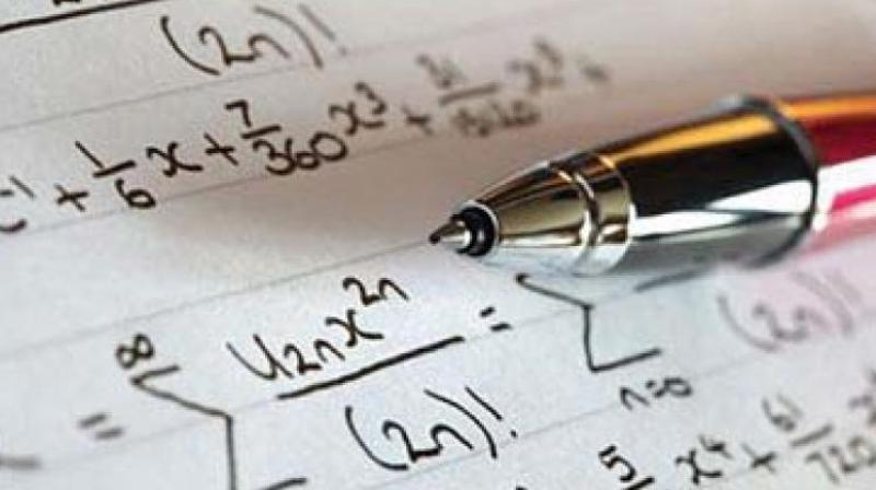 63 per cent of the parents believe their child gets tensed before a Mathematics test. (Photo: File)