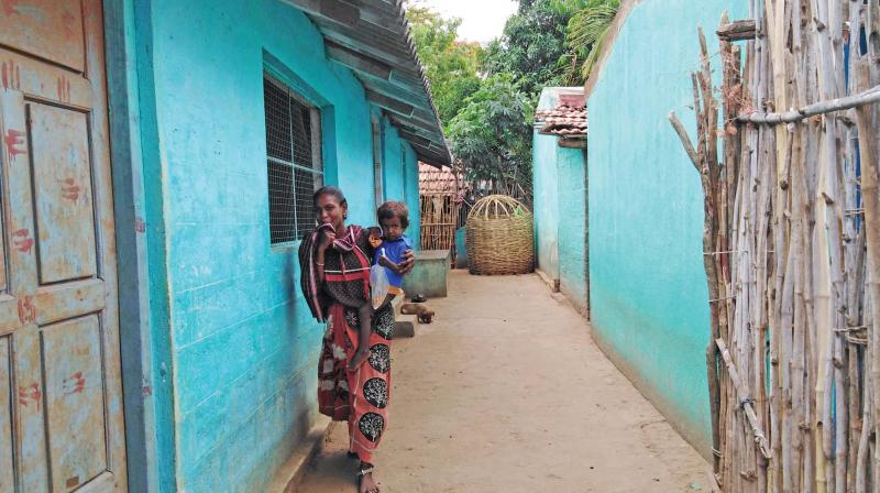 Tribal colony for people displaced because of Veerappan (Photo: DC)