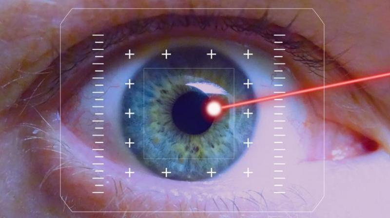 Direct contact with LED light can damage the retinal cells.