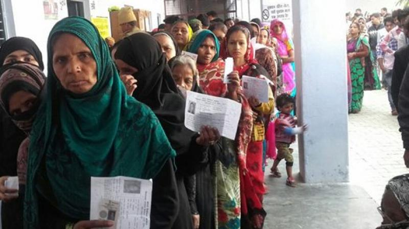 Elaborate arrangements have been made to ensure free and fair polling. Inter-district and inter-state borders have been sealed. (Photo: PTI)