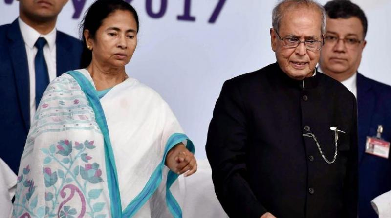Mukherjee said in his new book 'The Coalition Years' that Mamata had built her career fearlessly and aggressively and was the 'outcome of her own struggle'. (Photo: PTI | File)