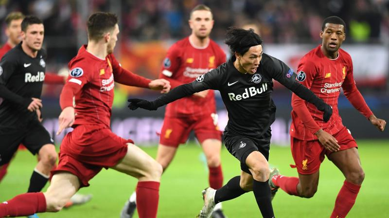 Ucl 2019 20 Liverpool March Into Last 16 With 2 0 Win Against Rb Salzburg