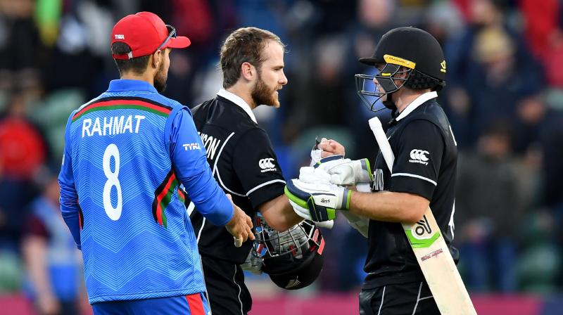 Kane Williamson said the performance was an improvement on the previous two wins and his Black Caps were building nicely for their next match in Nottingham against 2011 champion India. (Photo:AFP)