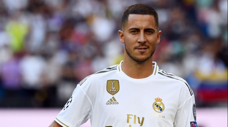 Hazard opined over his career also and said that he is in the best moment of his career. (Photo: AFP)