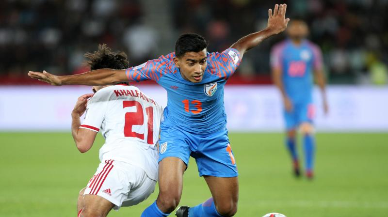Interestingly, the top four teams were unmoved, FIFA World Cup 2018 winner France stayed in the second position. (Photo: Indian Football Team/Twitter)