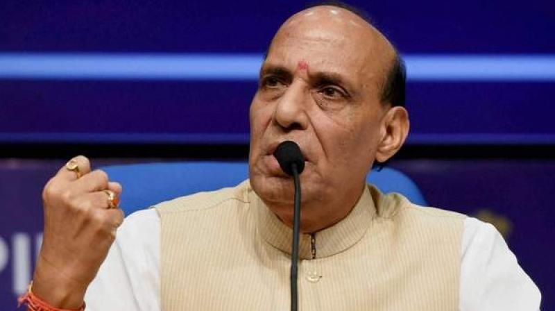 Union Home Minister Rajnath Singh said the people of the nation had faith in the BSF jawans and it had increased rapidly recently. (Photo: File | PTI)