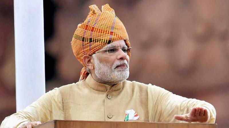 Pew said the public's 'positive assessment' of Modi is buoyed by 'growing contentment' with the Indian economy. (Photo: PTI | File)