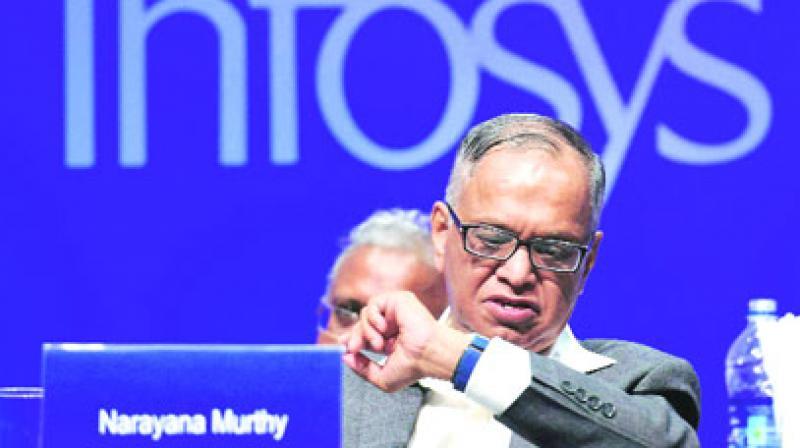 Infosys co-founder N R Narayana Murthy. (Photo: PTI)