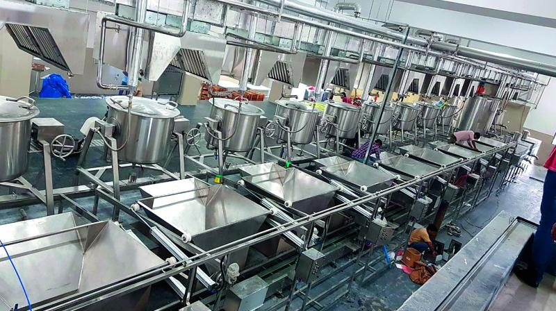 Telangana 1 Lakh Meals In 2 Hours At India S Biggest Kitchen
