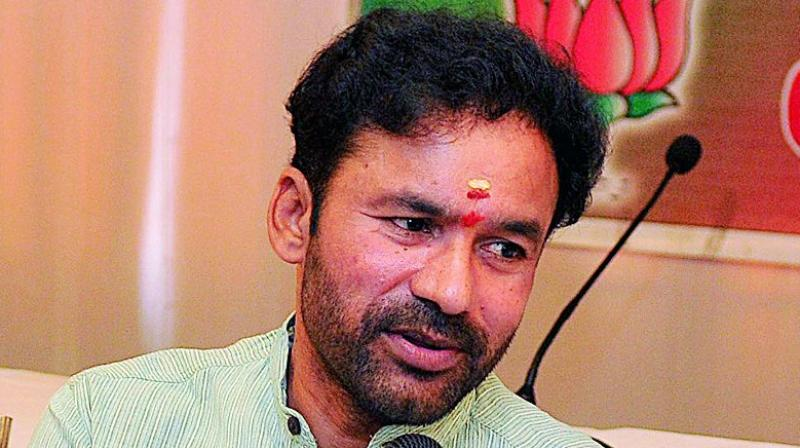 BJP Legislature Party leader G. Kishan Reddy
