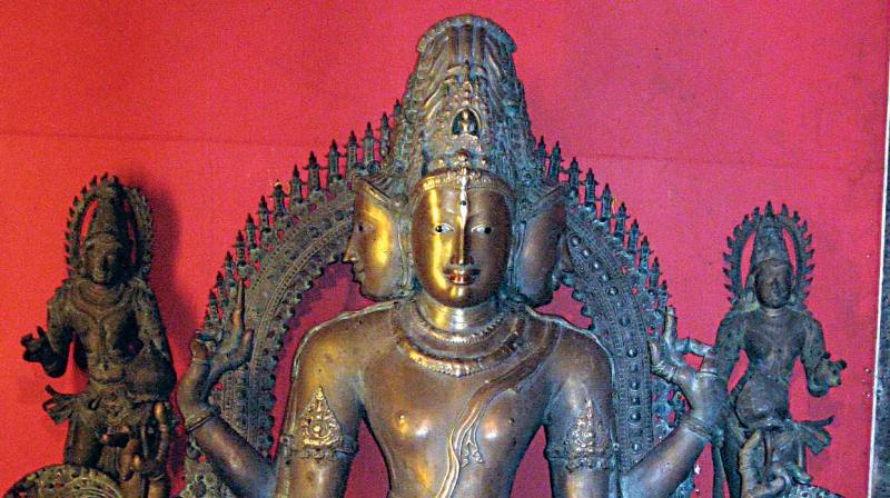 The idol of Lokeshwara in Kadri
