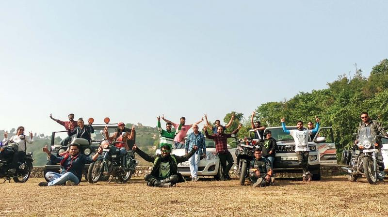 This endeavour brings together individuals, families and friends to offer on-road experiences across India. T