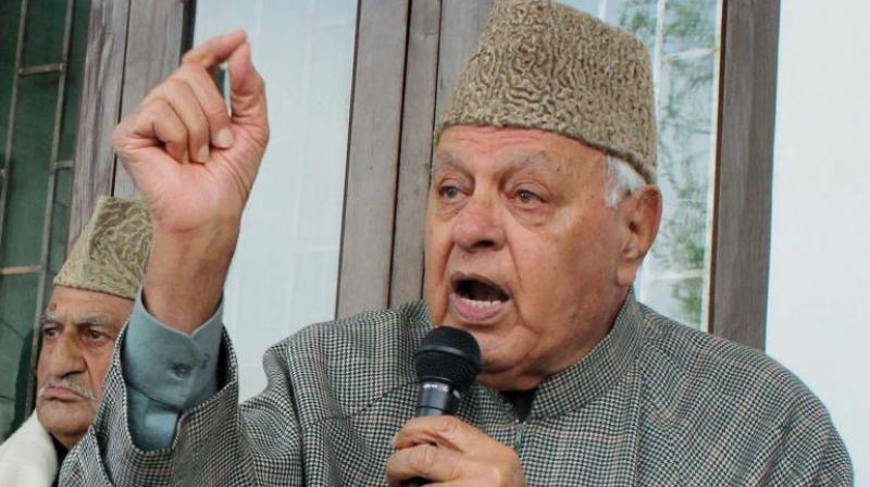 National Conference leader and former J&K chief minister Farooq Abdullah (Photo: PTI)