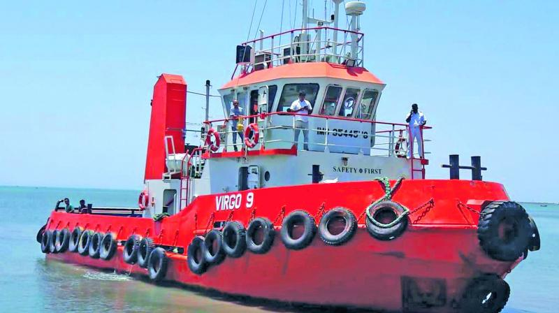 The vessel in which former V-P of Maldives Ahmed Adheeb Abdul Ghafoor reached India was denied entry at Thoothukudi port on Thursday.