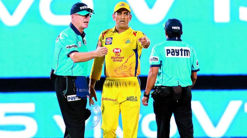 Any other captain or player had been as demonstrative as Dhoni in stepping on to the ground during play and picking up an argument with the umpires would have faced a minimum sanction of a suspension for two matches. Fining a multimillionaire cricketer 50 per cent of his fee was akin to a light rap on the knuckles.