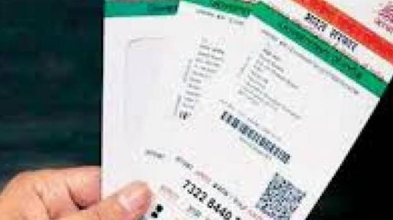 A five-judge Constitution bench made this oral observation to the Attorney General K.K. Venugopal, when he defended the Aadhaar scheme on the ground that it was meant to provide benefits to marginalised sections of society.   (Representational image)