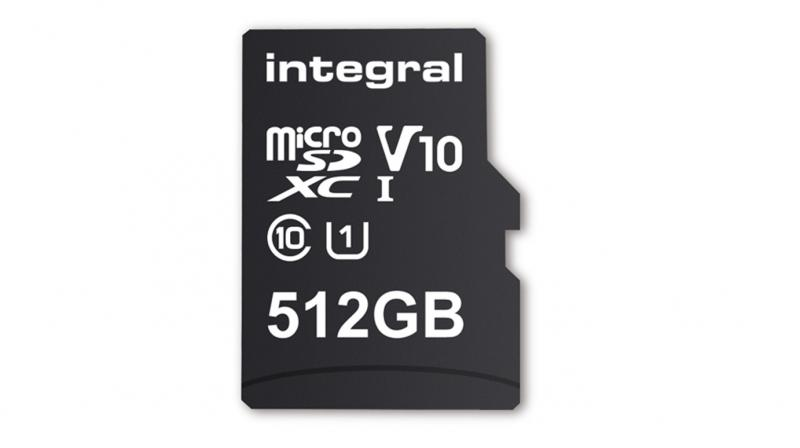 World's first 512GB microSDXC card coming soon from Integral Memory