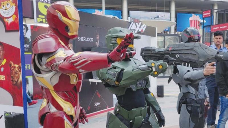 Akshay Churi (Cosplaying as Jim Raynor) will be competing with cosplay champions hailing from countries like USA, Australia, China, France, Austria, Singapore, and Indonesia to win the coveted 'Quest for the Crown' 2019.