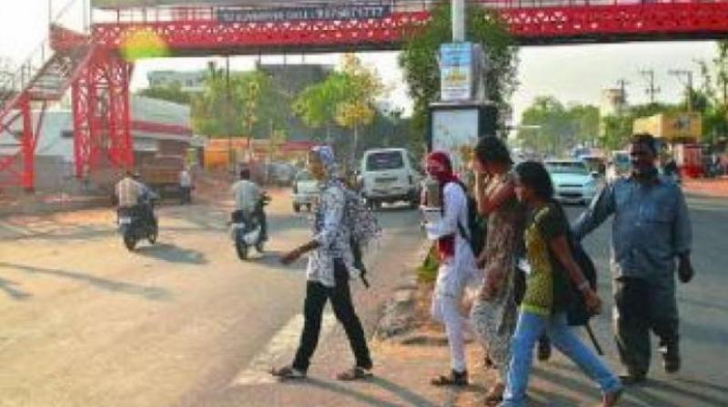 However, Mr Reddy complained, the corporation, despite giving several representations, has not even started constructing the footpath, due to which several non-fatal accidents have gone unreported. (Representational Image)