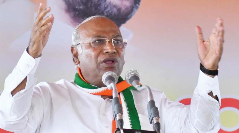 'I am fighting on ideological front and against individualistic and dictatorial rule of Modi,Congress MP Mallikarjun Kharge said.  (Photo: File)