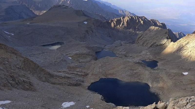 The skeletal remains were discovered by a few climbers last week in the mountain. (Photo: AP)