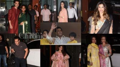 Arpita Khan Sharma hosted an Eid party for Bollywood's who's who, where all A-listers (of course including Salman Khan) came.