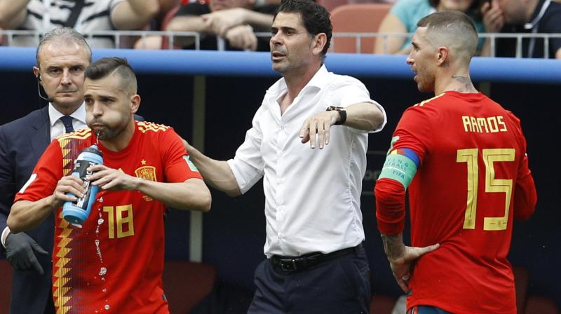 Spain were tipped among the favourites until Lopetegui caused chaos by announcing he would become Real Madrid's new coach after the World Cup. (Photo: AP)