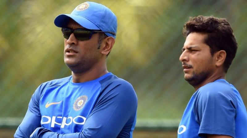 "Dhoni lost his cool and said, ""Kya main pagal hu yaha pe, maine 300 ODI khela hu"" which translates to ""Do you think I'm mad? I've played 300 ODIs,"" Kuldeep recalled. (Photo: BCCI)"