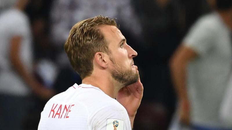 Kane looks set to claim the Golden Boot as the World Cup's leading scorer, but the Tottenham star rarely looked like adding to his six goals against Croatia. (Photo: AFP)