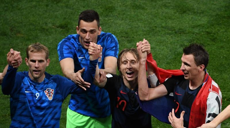 Croatia, who were beaten in extra-time by Portugal at Euro 2016, became just the second team to go to extra-time in three consecutive World Cup games. (Photo: AFP)