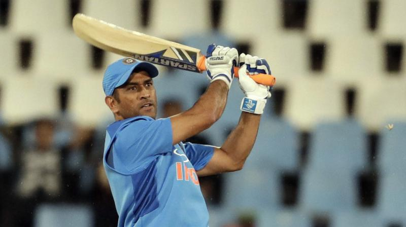 Dhoni also became only the second wicketkeeper-batsman to score 10000 runs. (Photo: AP)