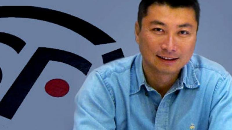 Wang Wei has found himself thrust into the spotlight after the listing of his SF Express courier service on the Shenzhen stock exchange made him a billionaire twenty times over. (Photo: Facebook)