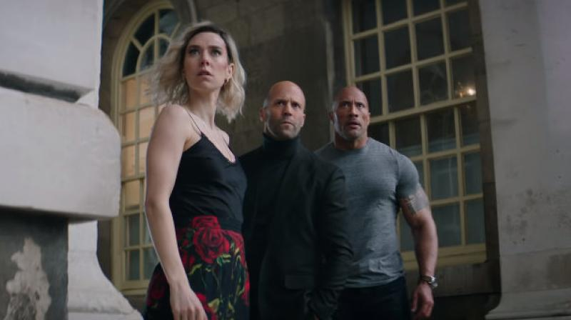Screen grab from Fast & Furious: Hobbs & Shaw trailer. (Courtesy: YouTube/ Fast & Furious)