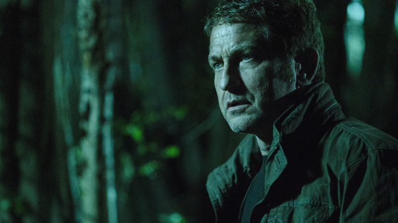 Gerard Butler in the still from the film.