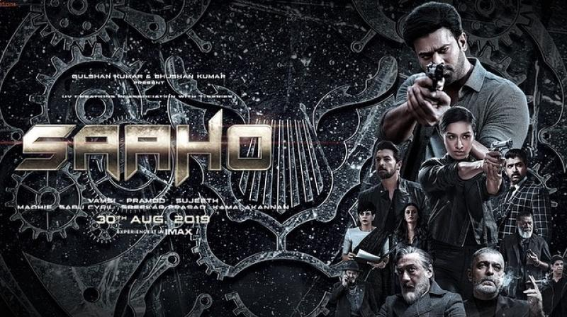 Saaho poster.