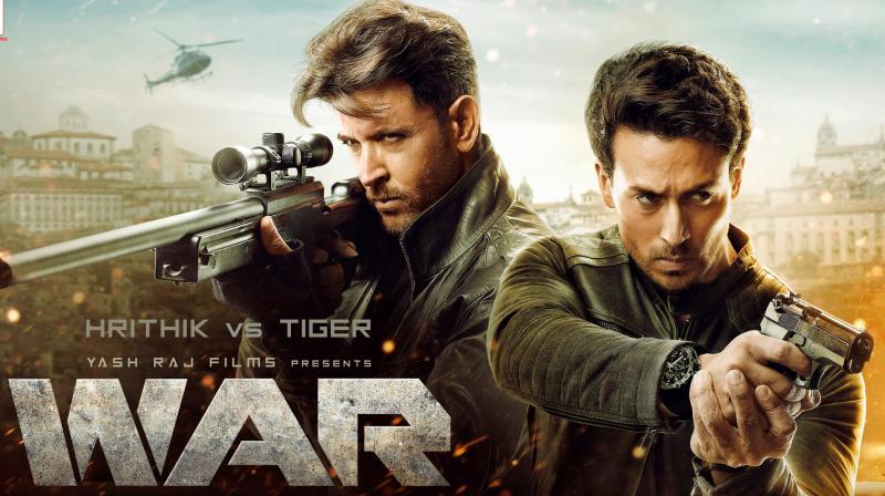 WAR poster.