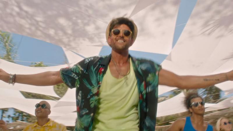 Hrithik Roshan on Ghungroo song from WAR. (Image Source: YouTube/ YRF)